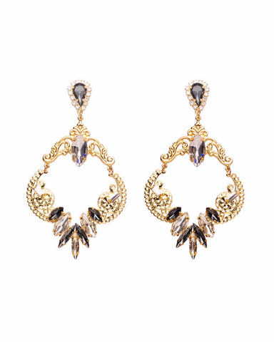Afterlight Filigree Drop Earrings - Chooseberry