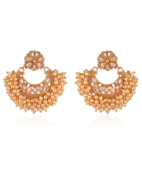 Gulchehra Chandbali Earrings