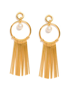 Gala gold Spike Earrings