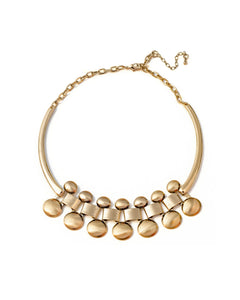Dumbbell Gold Choker Necklace - Chooseberry