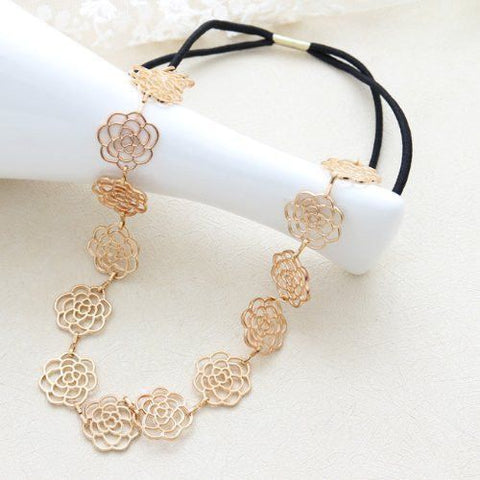 Rose Filigree Hair Band