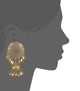Aabha Gold Plated Filigree Earrings
