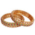 Gold Plated Bangles Set for Women
