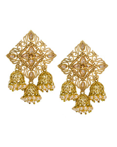 Mehran Jhumka Earrings