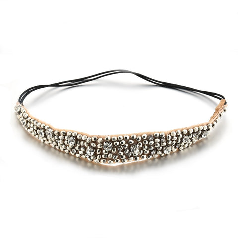 Jarred Beaded Hair Band