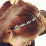 Hazel Silver Hair Bands