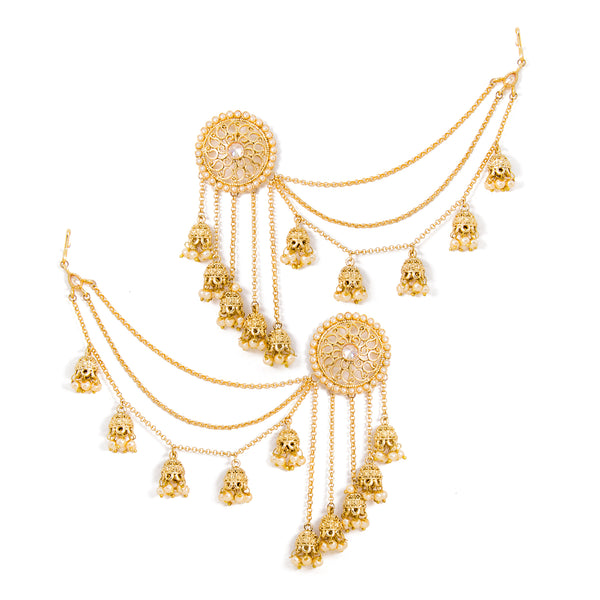Nadiya Long Jhumki Earrings