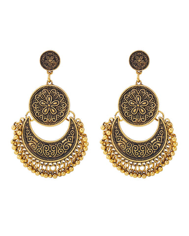 Firdous Oxidised Earrings