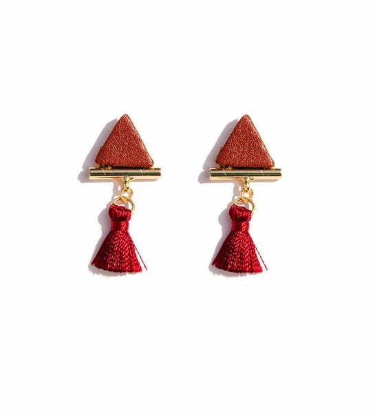 Uptown Mini Tassel Earrings
