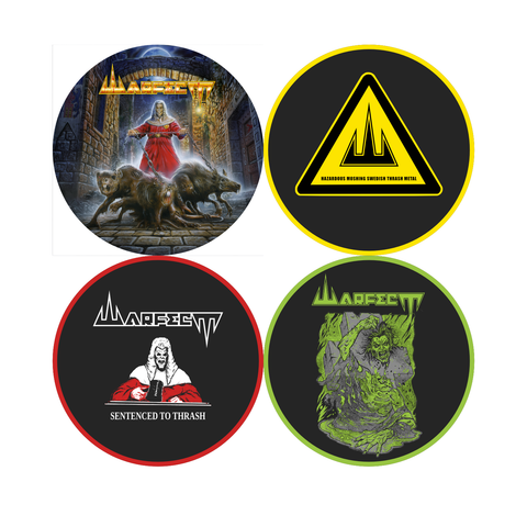 Coasters Four pack
