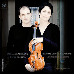 MYR004 Tabea Zimmermann / Kirill Gerstein - Sonatas for Viola & Piano Vol. 1