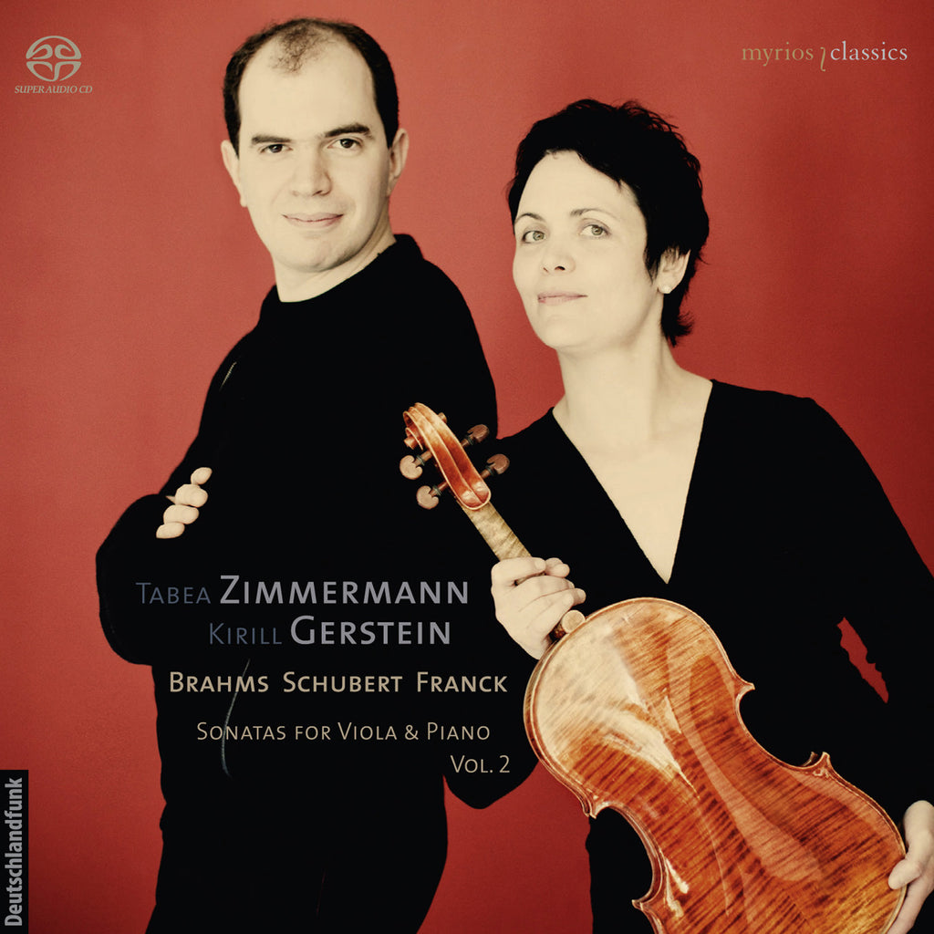MYR008 Tabea Zimmermann / Kirill Gerstein - Sonatas for Viola & Piano Vol. 2
