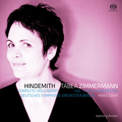 MYR010 Tabea Zimmermann - Hindemith Complete Viola Works Vol. 1 // Viola and Orchestra