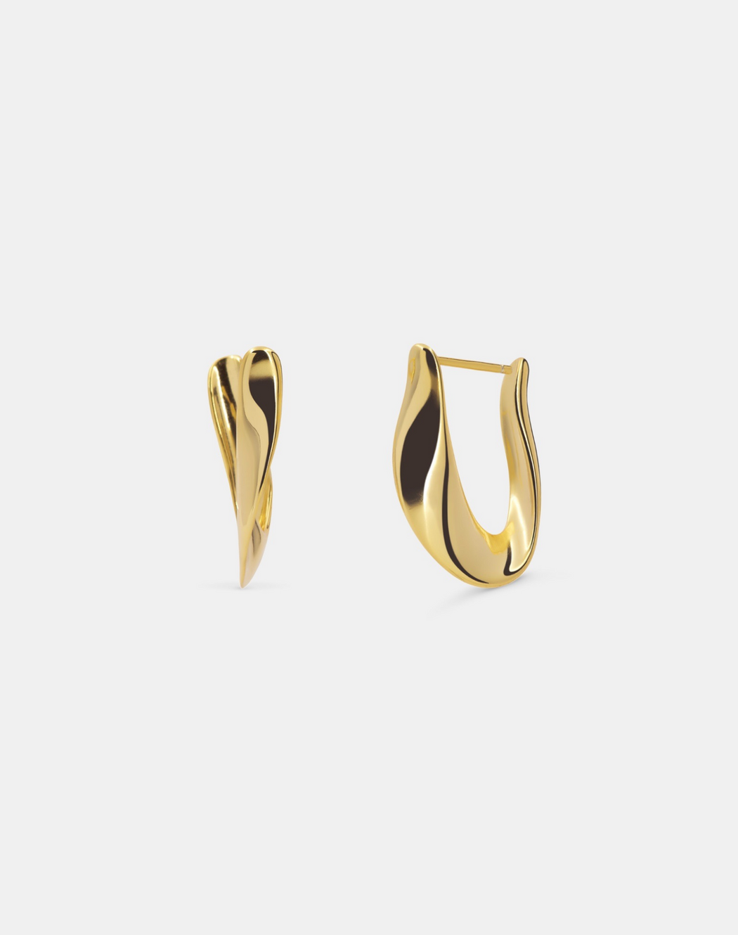Nana earrings gold - Andcopenhagen.dk