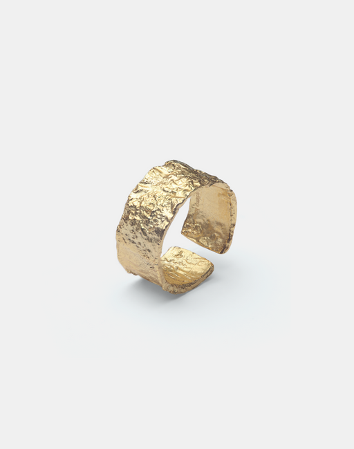 Alenka Grand ring gold-Guldringe-andcopenhagen