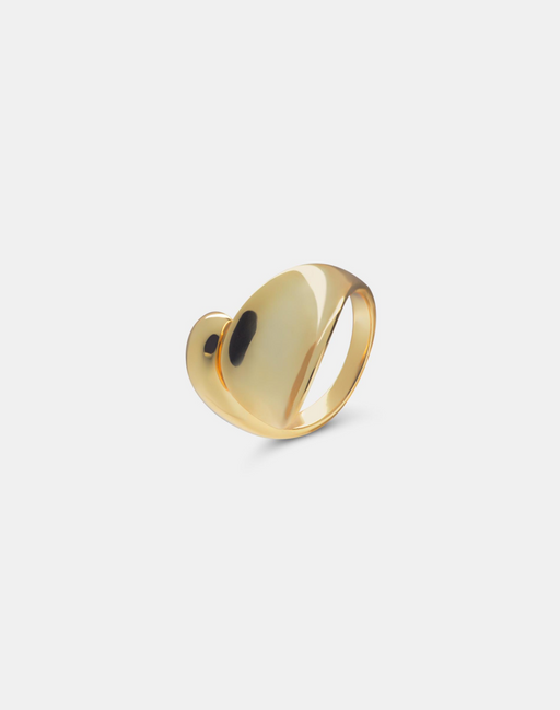 Drop ring gold-Guldringe-andcopenhagen