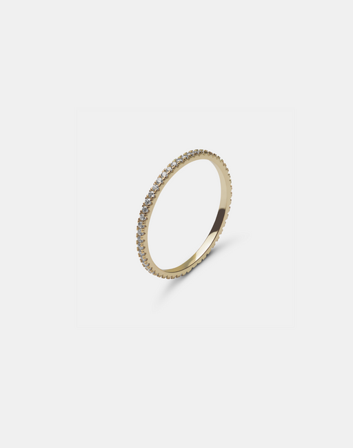 Maddy ring Clear-Guldringe-andcopenhagen