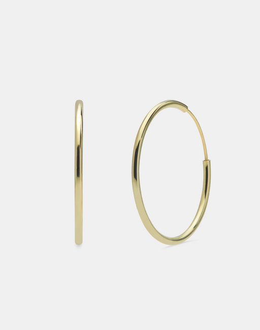 Classic Simple hoops gold-Guldøreringe-andcopenhagen