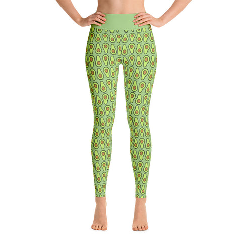 Avocado - Yoga Leggings