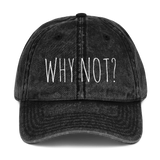 WHY NOT - Vintage Cap