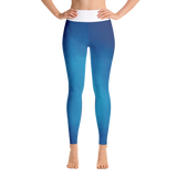 Ocean Waves - Yoga Leggings