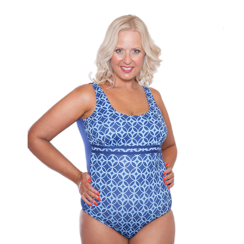 ONE PIECE SWIMWEAR WITH CONTOURED UNDERBUST