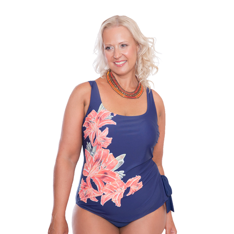 ONE PIECE SQUARE NECK SWIMWEAR