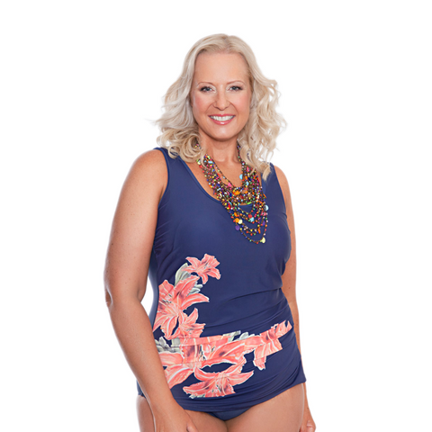 ONE PIECE MASTECTOMY SWIMWEAR