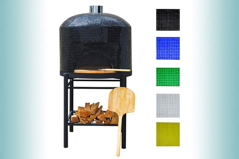 CALIFORNO PIZZA OVEN G-280-FULLY ASSEMBLED MOSAIC FINISH