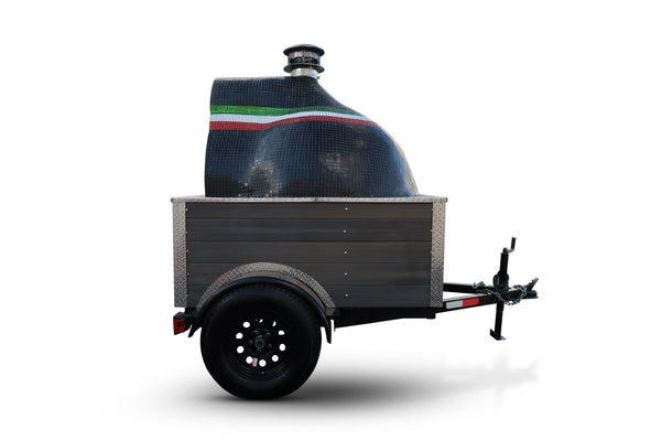 The californo pizza oven trailer is a great choice for pizza oven catering businesses