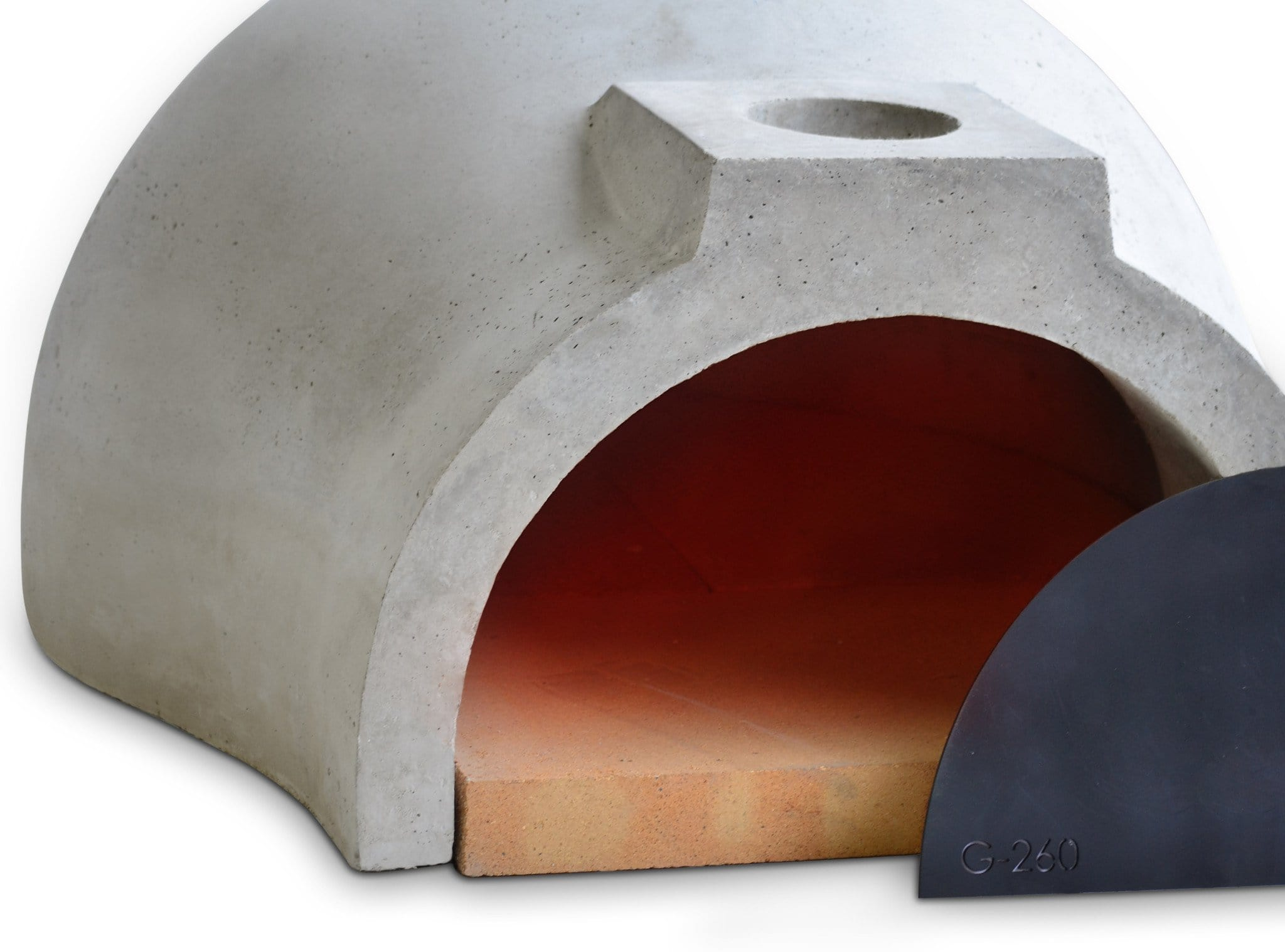 Pizza oven kit Californo Garzoni-260 isometric view-03