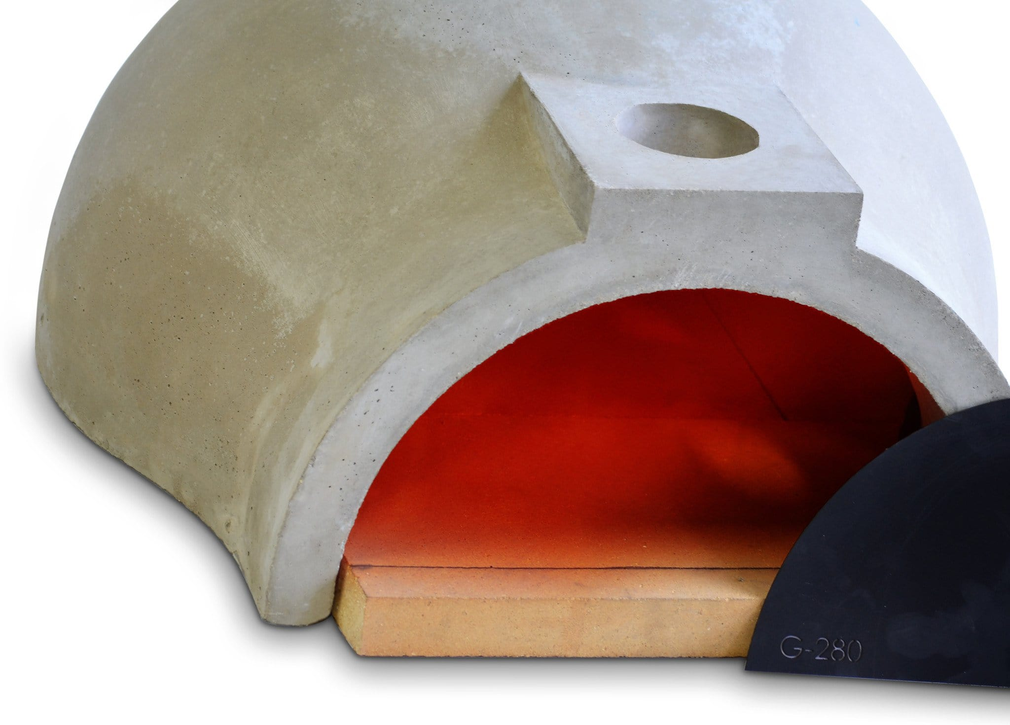 Pizza oven kit Californo Garzoni-280 isomatric view