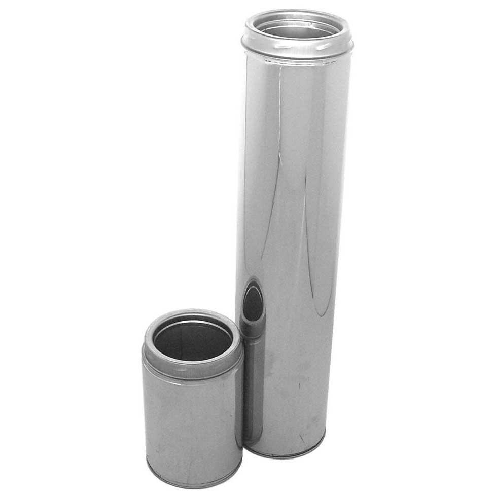 "6"" interior diameter insulated double wall chimney pipe"