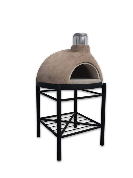 NEWEST PIZZA OVEN G-280-FULLY ASSEMBLED STUCCO FINISH