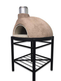 Garzoni Stucco Pizza Oven Assembled