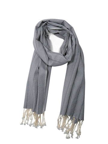 Kotton Handwoven Cotton Scarf - Shawl | Kotton El Dokuma Pamuk Sal