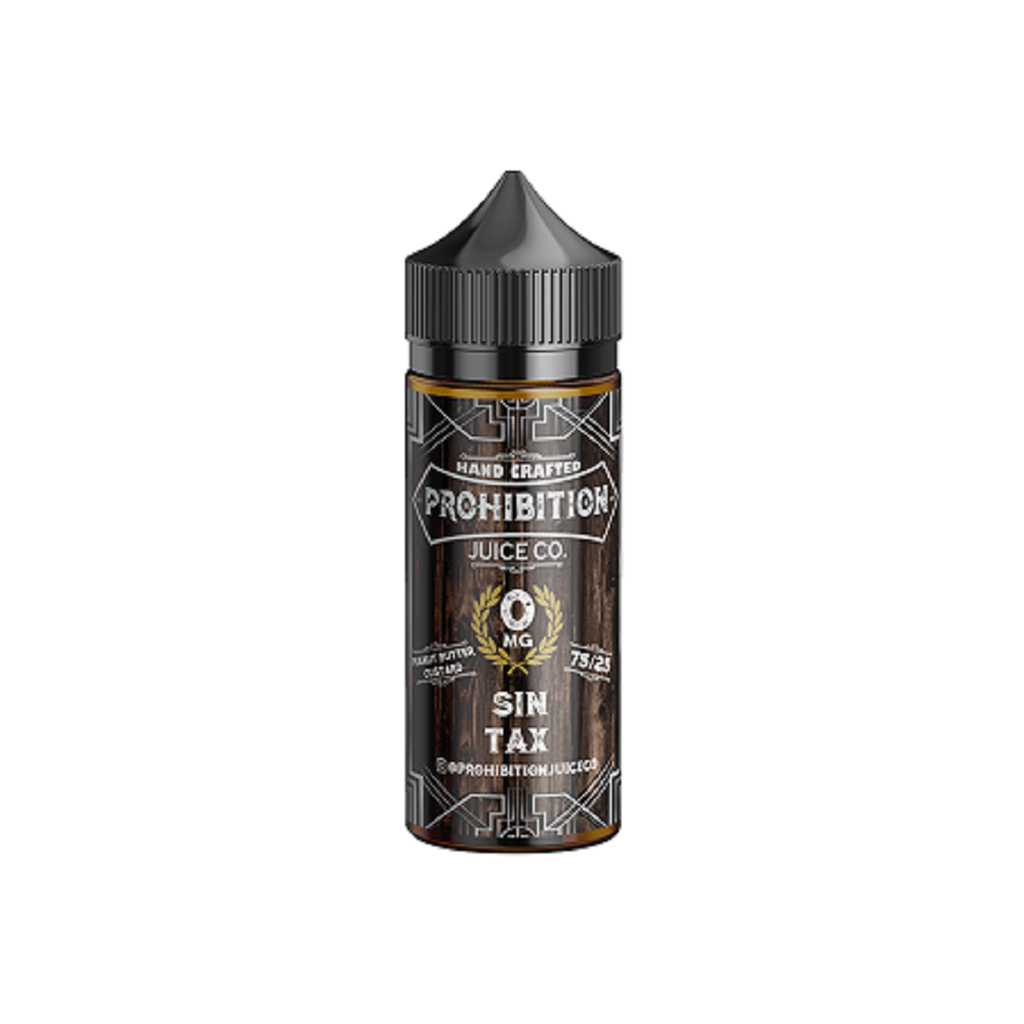 Prohibition Juice Co - Sin Tax - CLOUD REVOLUTION