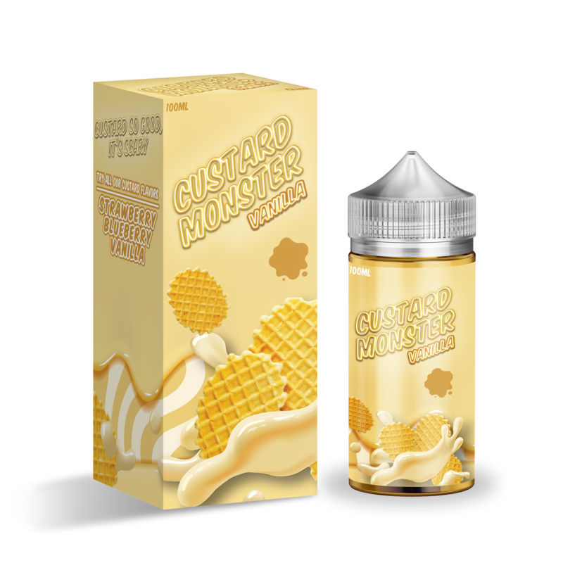 Custard Monster - Vanilla Custard - CLOUD REVOLUTION
