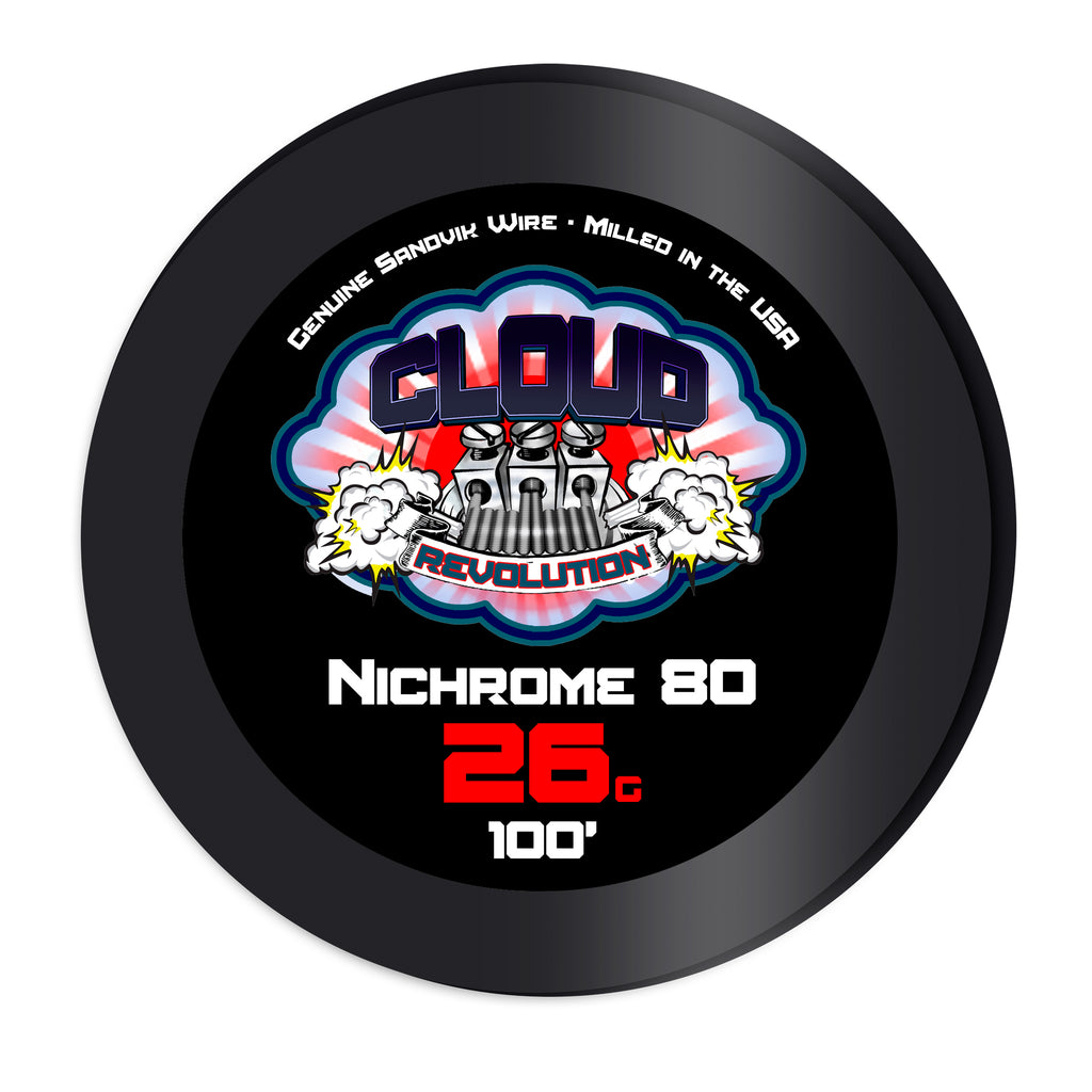 Nichrome 80 100-250FT Resistance Wire Spools - CLOUD REVOLUTION