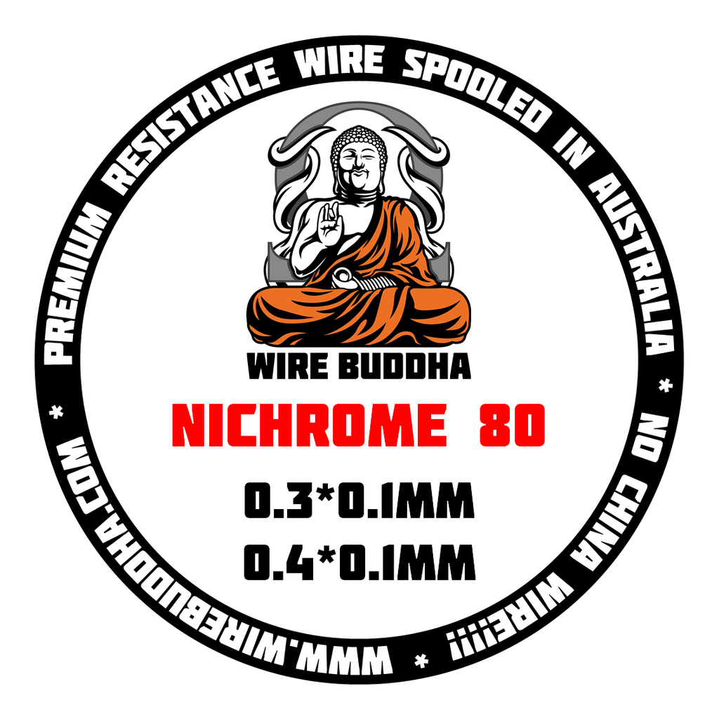 Nichrome 80 Ribbon Wire - Wire Buddha - CLOUD REVOLUTION
