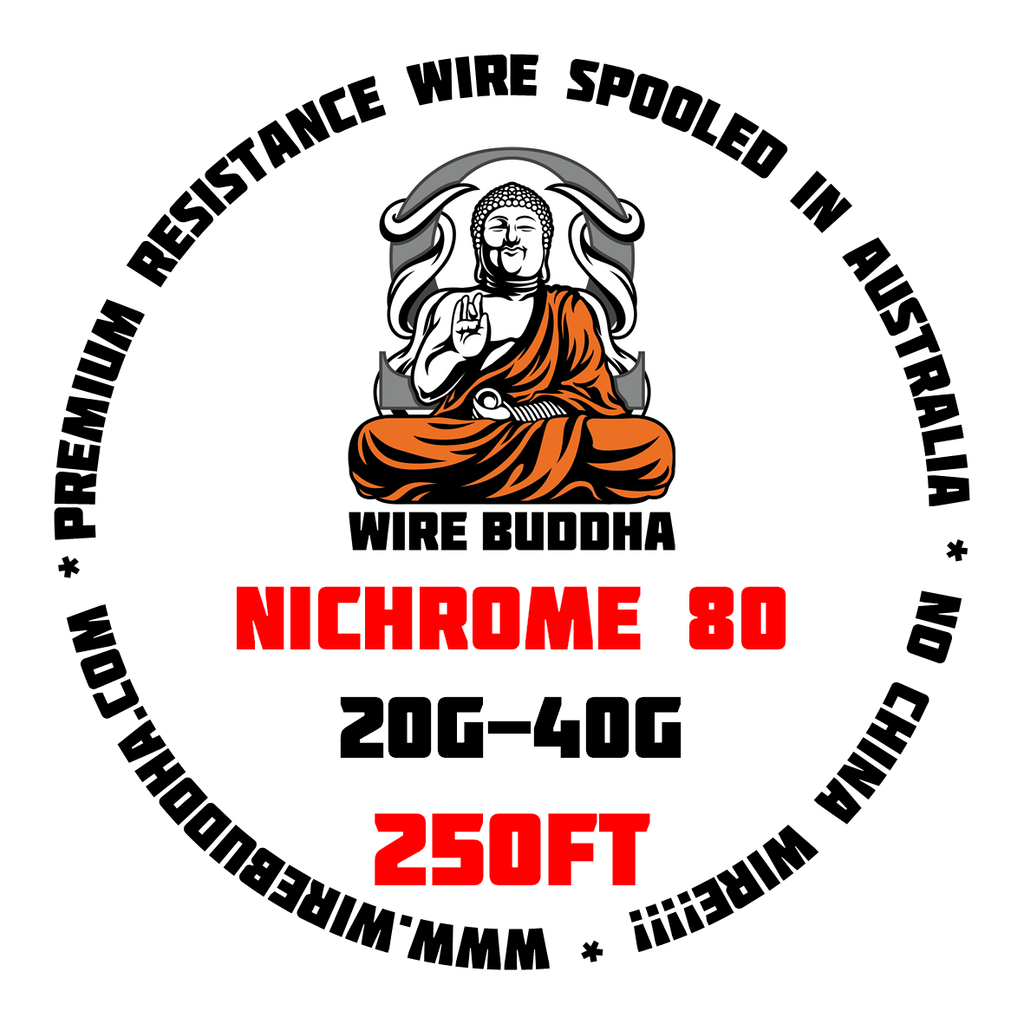 Nichrome 80 250FT Spool - Wire Buddha - CLOUD REVOLUTION