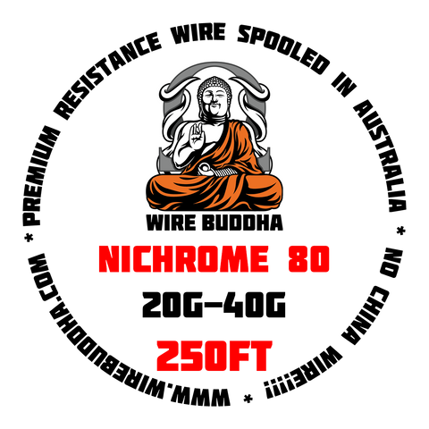 Nichrome 80 250FT Spool - Wire Buddha