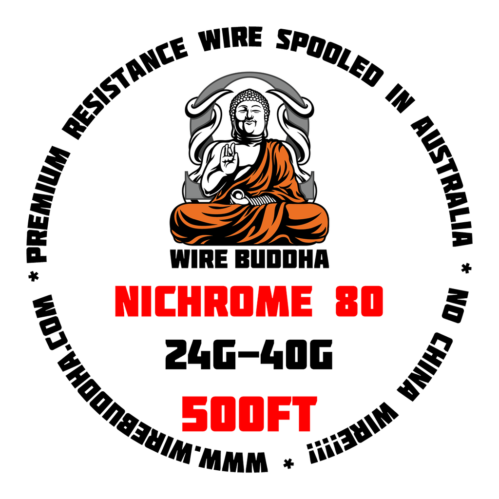 Nichrome 80 500FT Spool - Wire Buddha - CLOUD REVOLUTION