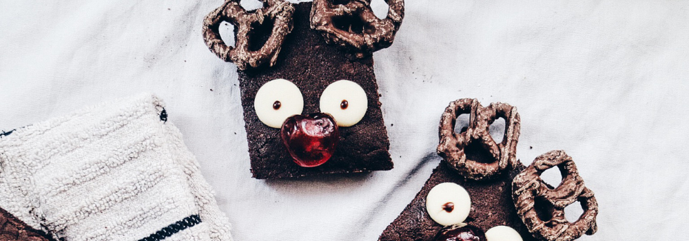 Rudolph Protein Brownies
