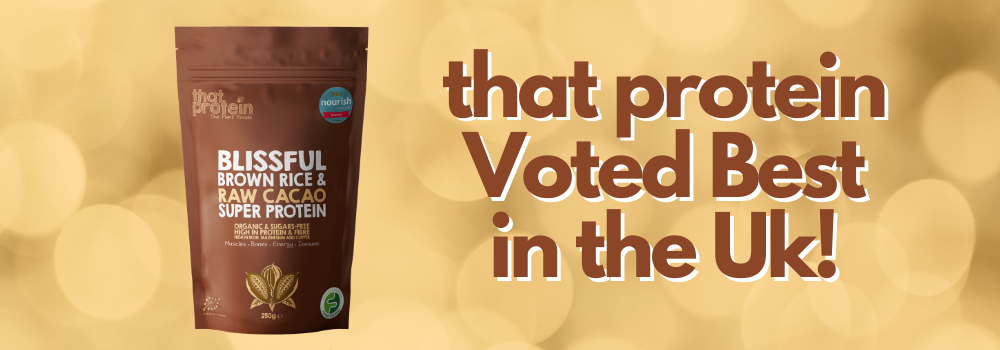 That Protein is Voted Best in U.K. for a 2nd year !