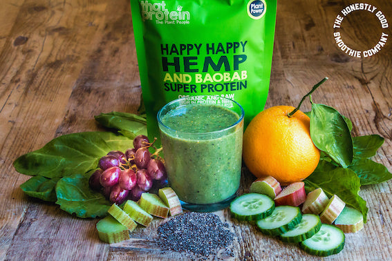 A Happy Happy £10 off Honestly Good Smoothies!