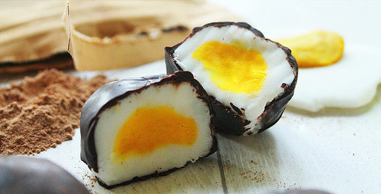 Vegan Protein Cream Eggs