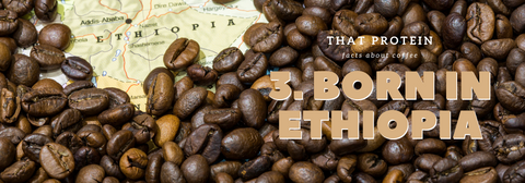that protein - coffee from Ethiopia