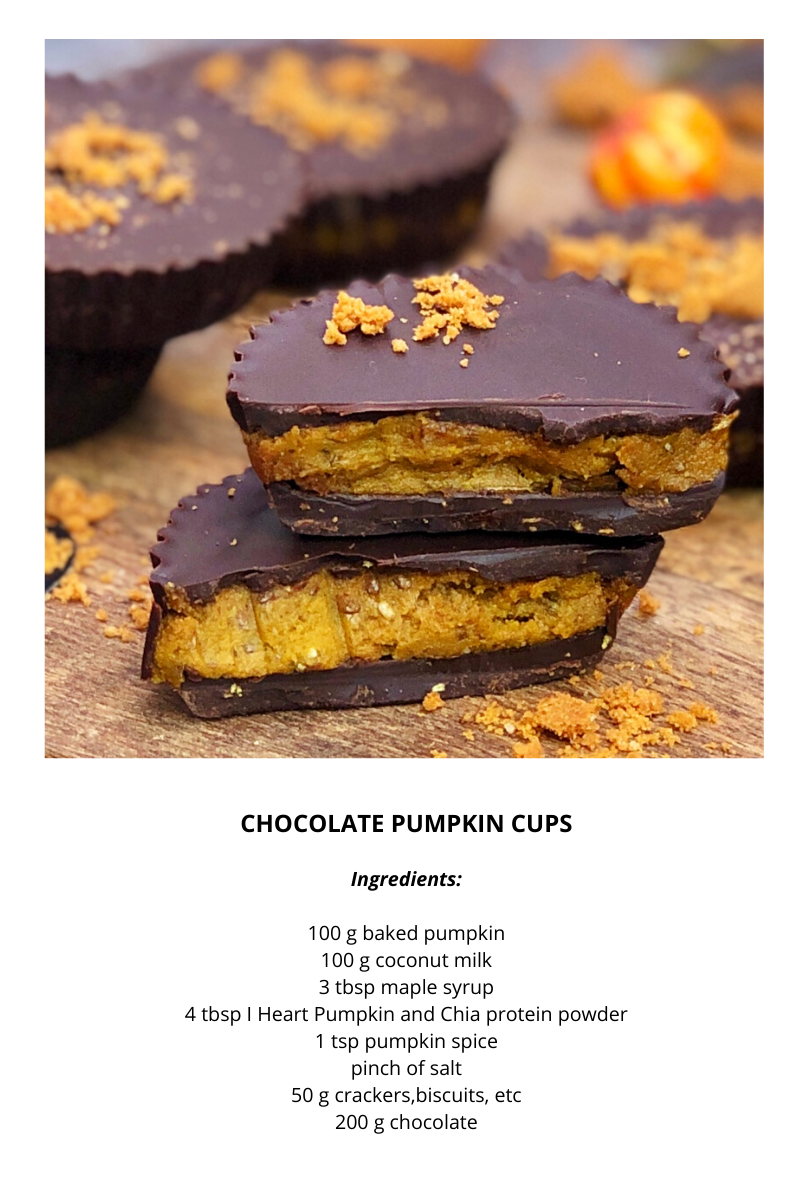 that protein chocolate pumpkin cups