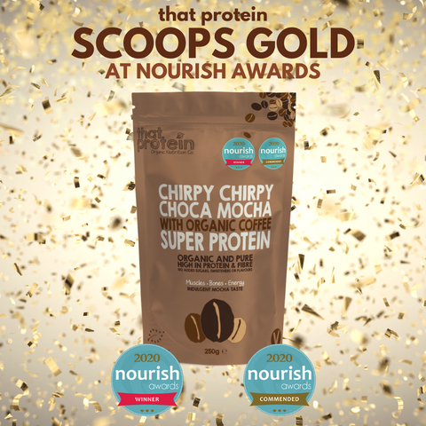 that protein wins gold at UK nourish Awards